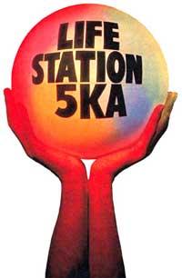 5KA Life Station logo