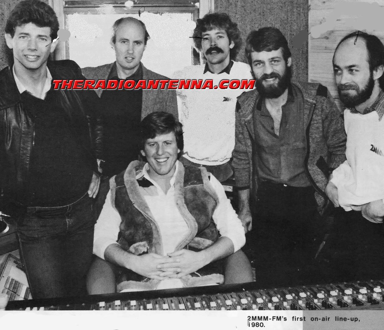 2MMM FM first on-air 1980 copy