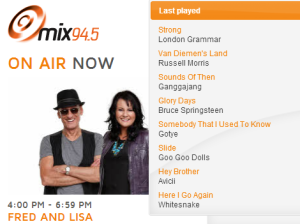 Fred and Lisa MIX94.5