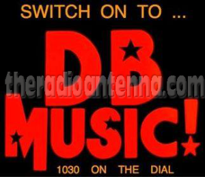 DB Music sticker 70s copy